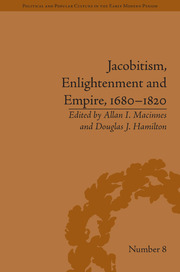 Jacobitism, Enlightenment and Empire, 1680–1820