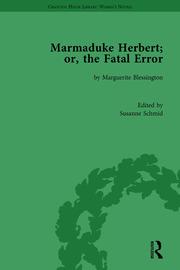 Marmaduke Herbert; or, the Fatal Error: by Marguerite Blessington