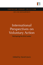International Perspectives on Voluntary Action: Reshaping the Third Sector