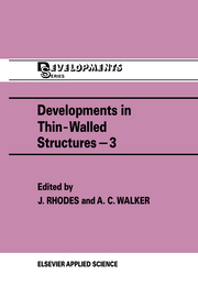 Developments in Thin-Walled Structures - 3