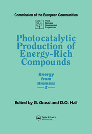 Photocatalytic Production of Energy-Rich Compounds