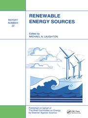 Renewable Energy Sources: Watt Committee: report number 22