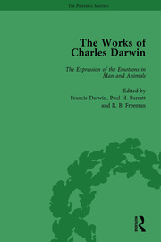 The Works of Charles Darwin: Vol 23: The Expression of the Emotions in Man and Animals