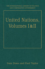 United Nations, Volumes I and II: Volume I: Systems and Structures Volume II: Functions and Futures