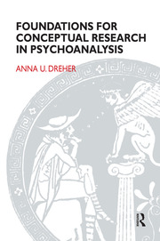 Foundations for Conceptual Research in Psychoanalysis