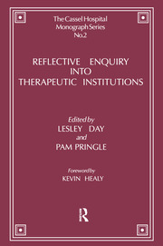 Reflective Enquiry into Therapeutic Institutions