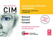 CIM Revision Cards: Assessing the Marketing Environment