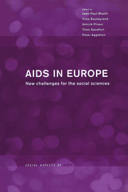 AIDS in Europe: New Challenges for the Social Sciences