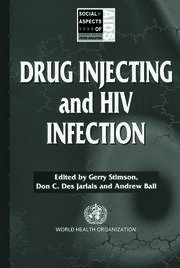 Drug Injecting and HIV Infection