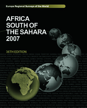 Africa South of the Sahara 2007