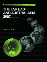 The Far East and Australasia 2007