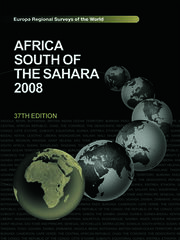 Africa South of the Sahara 2008
