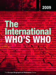 The International Who's Who 2009