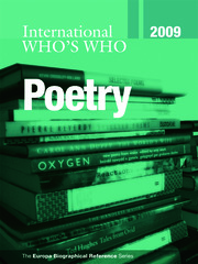 International Who's Who in Poetry 2009