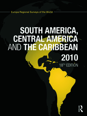 South America, Central America and the Caribbean 2010