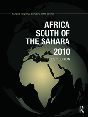 Africa South of the Sahara 2010
