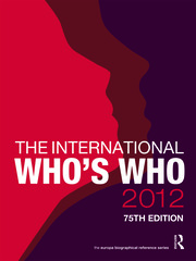 The International Who's Who 2012