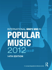 International Who's Who in Popular Music 2012