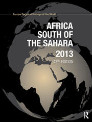 Africa South of the Sahara 2013