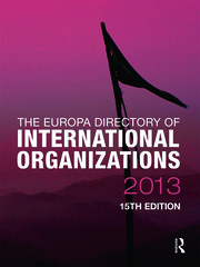 The Europa Directory of International Organizations 2013