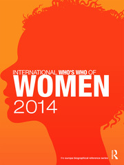 International Who's Who of Women 2014