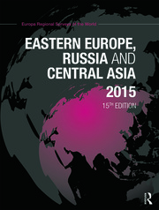 Eastern Europe, Russia and Central Asia 2015