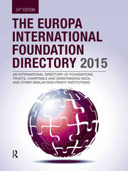 The Europa International Foundation Directory 2015