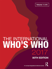 The International Who's Who 2017