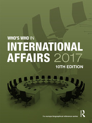Who's Who in International Affairs 2017