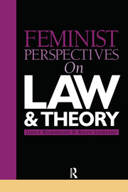 Feminist Perspectives on Law and Theory