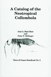 A Catalog of the Neotropical Collembola
