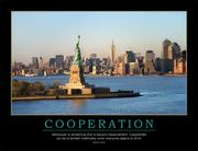 Cooperation Poster