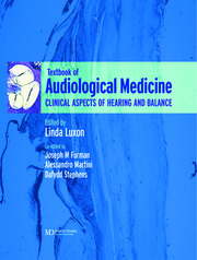 A Textbook of Audiological Medicine: Clinical Aspects of Hearing and Balance