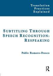 Subtitling Through Speech Recognition