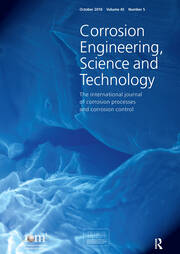 Corrosion of Archaeological and Heritage Artefacts EFC 45: A Special Issue of Corrosion Engineering, Science and Technology