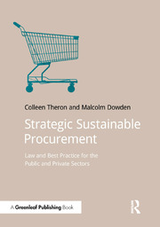 Strategic Sustainable Procurement: Law and Best Practice for the Public and Private Sectors
