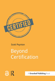 Beyond Certification