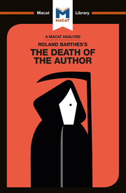 Roland Barthes' The Death of the Author