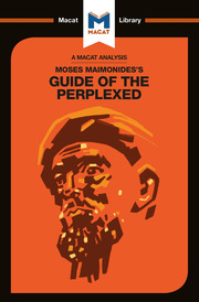 Moses Maimonides's Guide of the Perplexed