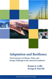 Adaptation and Resilience: The Economics of Climate, Water, and Energy Challenges in the American Southwest