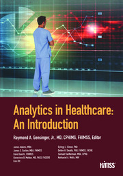 Analytics in Healthcare: An Introduction