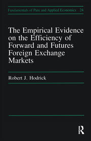 Empirical Evidence on the Efficiency of Forward and Futures Foreign Exchange Markets