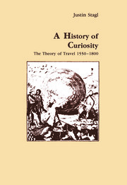 A History of Curiosity: The Theory of Travel 1550-1800