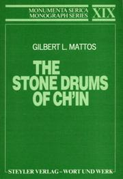 The Stone Drums of Ch'in