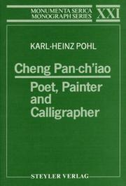 Cheng Pan-ch'iao: Poet, Painter and Calligrapher