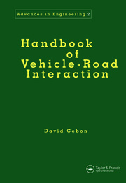 Handbook of Vehicle-Road Interaction