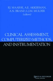 Clinical Assessment, Computerized Methods, and Instrumentation