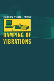 Vibration damping by structural friction