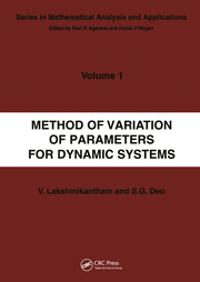 Method of Variation of Parameters for Dynamic Systems