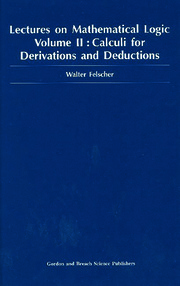 Lectures on Mathematical Logic, Volume II